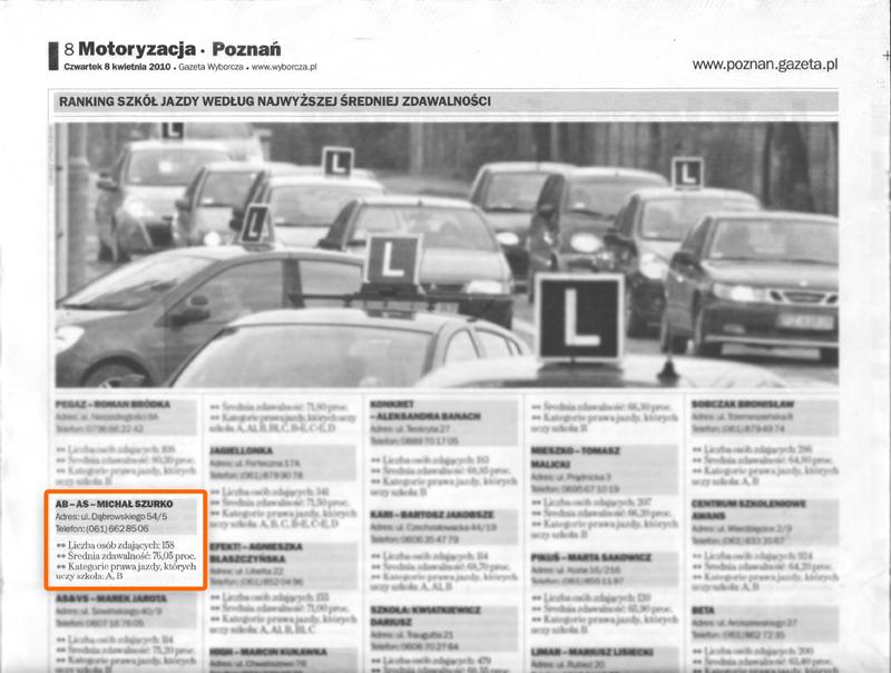 gazeta_wyborcza_2010_osk_abas_poznan_nauka_jazdy_prawko