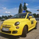 Fiat 500 automat - egzamin na prawko