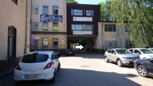 Nowy plac manewrowy OSK AB-AS w Poznaniu (Jeżyce)