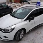 Renaul Clio IV - Biała Perła w OSK Ab-As w Poznaniu